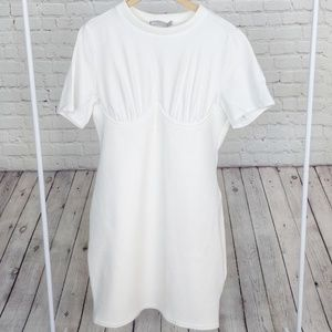 NWOT ASOS Curve Underwire Bandage T-shirt Dress